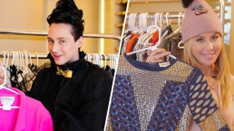 Take a Peek Inside Tara's and Johnny's Olympic Hotel Wardrobes