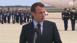 Macron Visit Puts Spotlight on Iran Nuclear Deal
