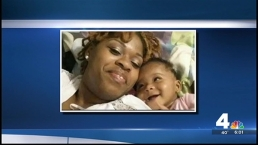 Slain Prince George's Co. Teacher, Toddler Remembered at Vigil