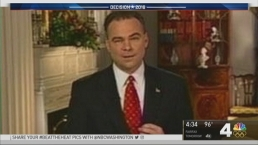 Sen. Tim Kaine's Left Eyebrow Grabs Attention