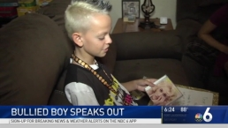 Bullied Boy Who Shared Stage With Gwen Stefani Speaks Out