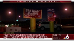 Missing Davie Tow Truck Driver Found Safe in Georgia