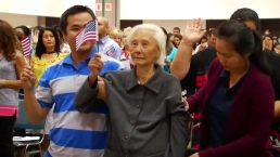 103-Year-Old Becomes U.S. Citizen in California