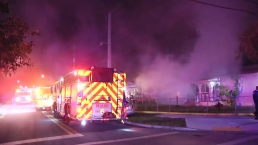 NW Miami House Fire; Elderly Couple Displaced