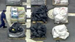 Coast Guard Unloading Major Drug Haul in South Florida