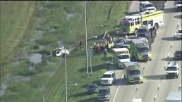 Fatal Crash on Florida Turnpike Sends Four to Hospital