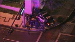 Officer Involved in Northeast Miami Dade Crash