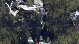 Crews Continue Search For Possible Victim in Everglades Plane Collision