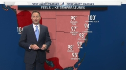 Heat Index Over 100 Degrees Takes Over South Florida.