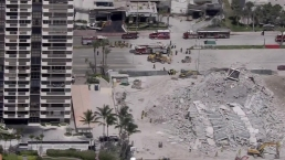 Building Collapses in Miami Beach Monday Morning