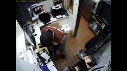 Miami Burger King Robbery Caught on Camera