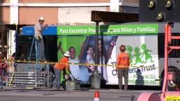 Time-Lapse Video: Crews Remove Metrobus Stuck in Building