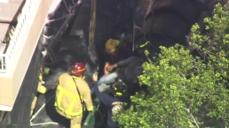 Worker Rescued After Trapped Inside Dumpster