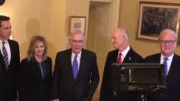 Rick Scott Meets With GOP Senators in Washington D.C.