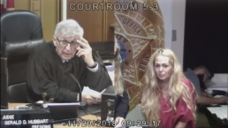 Antoinette Rowan Appears in Bond Court