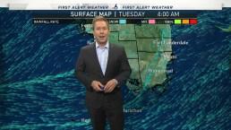 NBC 6 Web Weather - April 23rd Morning