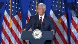 Mike Pence Speaks About 'Latinos for Trump' Coalition in Miami