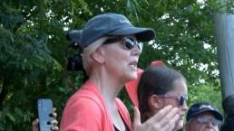 Sen. Elizabeth Warren Visits Homestead Facility for Undocumented Immigrants