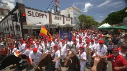 'Running of the Bulls' Takes Over Key West's Hemingway Days