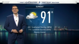NBC 6 Web Weather - July 20th Evening