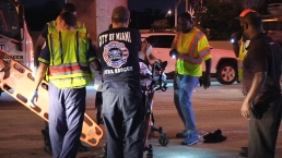 Woman Hospitalized After Falling Out of Car on I-95