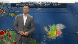 Tropical Storm Dorian Forms in Atlantic Ocean