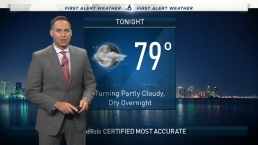 NBC 6 Web Weather - August 25th Evening