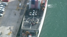 Coast Guard Offloads Cocaine at Miami Beach