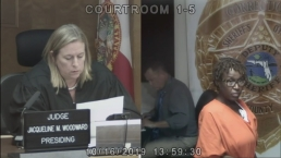 Gina Emmanuel Appears in Bond Court in Miami-Dade