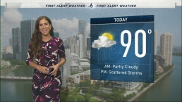 NBC 6 Web Weather - October 17th Midday