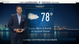 NBC 6 Evening Forecast - Oct. 19, 2019