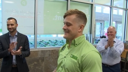 Publix Hero Honored for Helping During Plantation Explosion