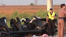 Crash Kills Police Officer, Other Driver