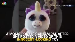 Mom Scares Toddler With Unicorn Toy, Video Goes Viral