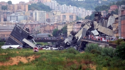 Highway Bridge Collapses in Italy, Killing at Least 22