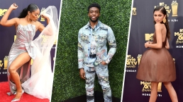 2018 MTV Awards: Stars Shine on the Red Carpet