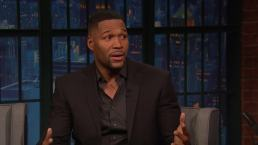 'Late Night': Strahan Skipped White House After Super Bowl