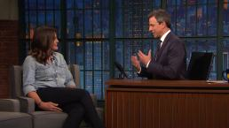 'Late Night': Mariska Hargitay Got Brooke Shields on 'SVU'