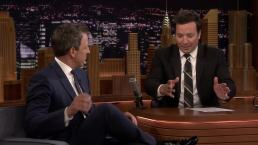 'Tonight': Seth Meyers Talks Son's Apartment Lobby Birth