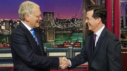 "Stephen Colbert's First ""Late Show"" Shot"