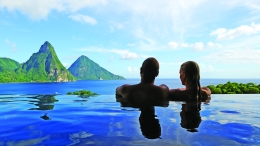 Enter For a Chance to Win a Honeymoon in Saint Lucia