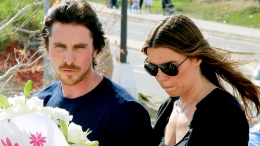 "Christian Bale Visits ""Dark Knight"" Massacre Victims"