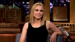"Kristen Bell Talks ""Frozen"" on ""The Tonight Show"""