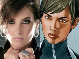 "Cobie Smulders Hoping to Ride Shotgun With Nick Fury in ""Avengers"""