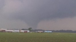 Severe Storms, Tornadoes Hit Plains States