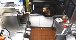 Burglary Suspect Uses Drive-Thru Window to Steal Food, Cash