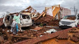 18 Dead Amid Reported Tornadoes, Other Storms in South