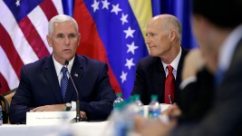 Pence in Florida: US Won't Stand by as Venezuela Crumbles