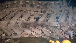 11 Dead, Many Trapped After Strong Quake Rocks Taiwan