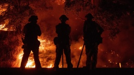 Firefighter Dies Battling Largest California Blaze in History